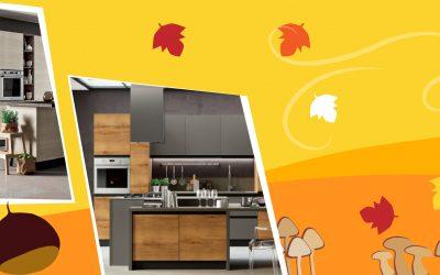 Speciale novembre: cucine accoglienti e di tendenza