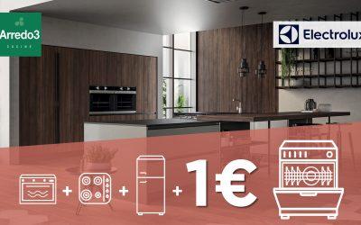 Continua la spettacolare promozione: la lavastoviglie con 1€!