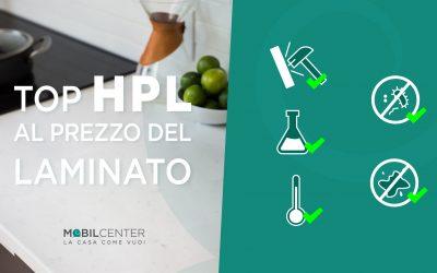 Top in HPL allo stesso prezzo del laminato